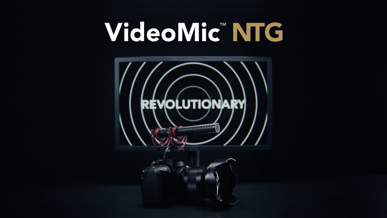 VideoMic NTG video