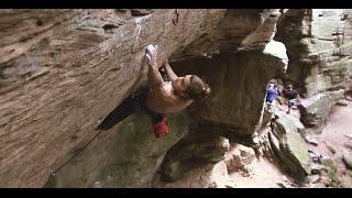 Nikita (8c) - Climbing in Berdorf, Luxembourg by Climb to Heaven