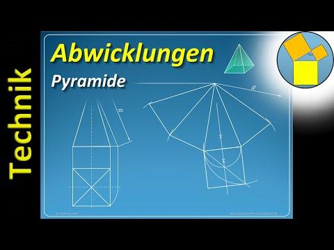 Abwicklung einer Pyramide – Geometrie – Rueff