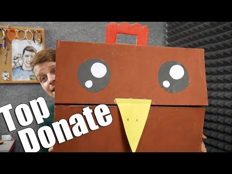 Největší Donate co jsem kdy dostal ! - Unboxing Pošty
