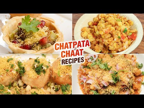 Chatpata Chaat Recipes | 5 Best Chatpata Chaat Recipes | Quick And Easy Chaat Recipes