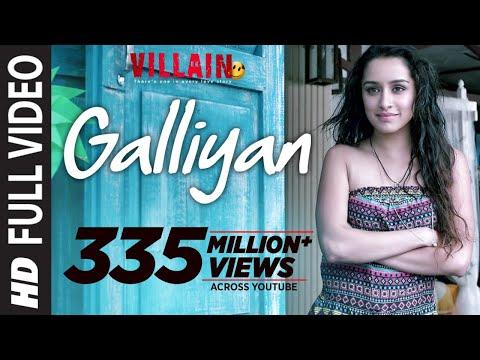 Galliyan Song | Ek Villain | Ankit Tiwari | Sidharth Malhotra | Shraddha Kapoor