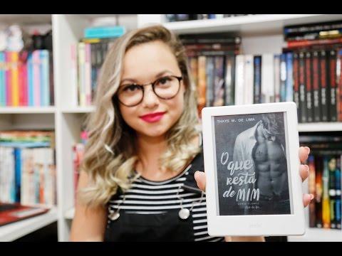 Lançamento do meu livro | O Que Resta de Mim #1