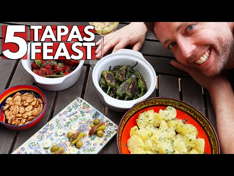 5 Tapas Perfect for Parties 💥