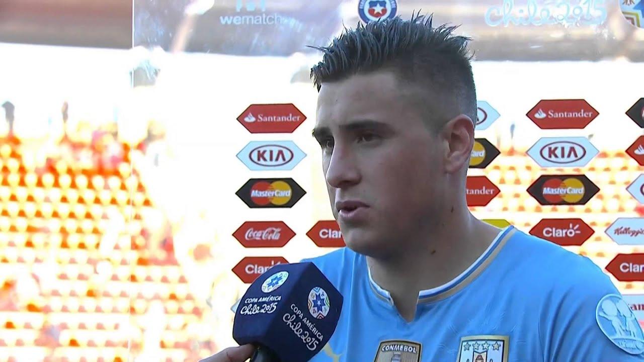 """Copa América 2015: Giménez: """"O Uruguai sempre joga para ganhar"""" #CopaAmericaChile2015"""
