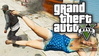 GTA 5 FUN WITH CHEATS - GRAND THEFT SUPER HERO! (GTA V Cheat Codes)