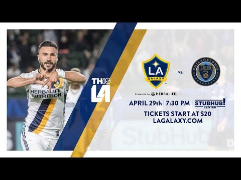Video: TEASER: LA Galaxy vs Philadelphia Union | April 29, 2017