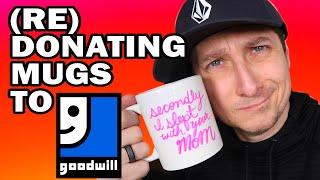 Re-donating Mugs to Goodwill - Man Vs Goodwill by ThreadBanger