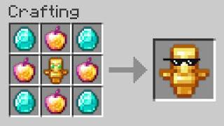 Minecraft UHC but I secretly craft a HACKER TOTEM...