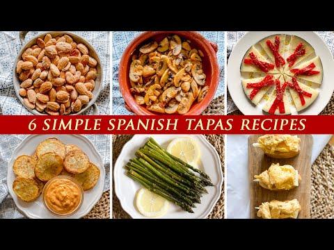 6 Easy Spanish Tapas Recipes   Quick Spanish Appetizers