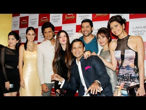 Video Grand Masti team attend the Lakme Fashion Week 2013 download in MP3, 3GP, MP4, WEBM, AVI, FLV January 2017