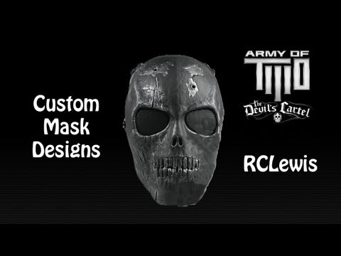 Army Of TWO: The Devil's Cartel - Custom Masks (1080p HD)