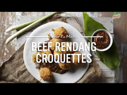BEEF RENDANG CROQUETTES