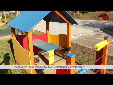 TVS: Staré Město - Rekonstrukce zahrady MŠ Křesťanské