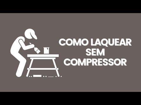 Laquear sem compressor