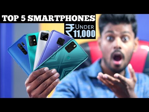 TOP 5 BEST SMARTPHONES UNDER ₹11,000 IN NOVEMBER 2020