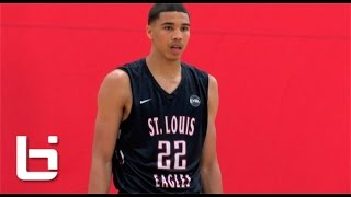 Tatum (TX) United States  city images : #1Ranked Jayson Tatum The Smoothest Game in High School? Nike EYBL Highlights!