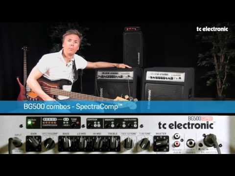 TC Electronic BG500 Bass Combos - Spectracomp™
