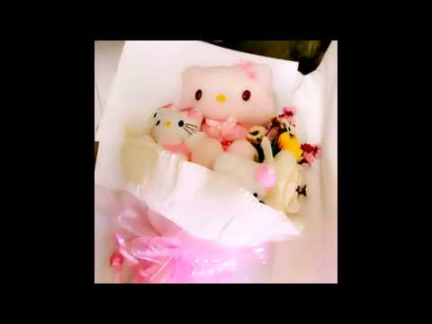 Hello Kitty flower bouquet video clip created with 美拍 Meipai #4 (102014)