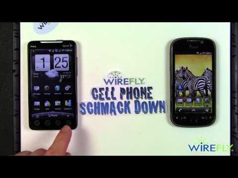 HTC EVO 4G vs T-Mobile myTouch 4G Schmackdown