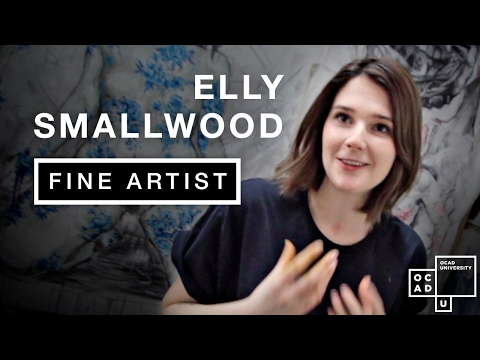 Visit the Toronto studio of art star Elly Smallwood