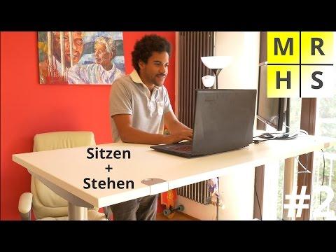 Elektrisch Höhenverstellbarer Schreibtisch Test +++ Gesundheit, Konzentration, Kreativität