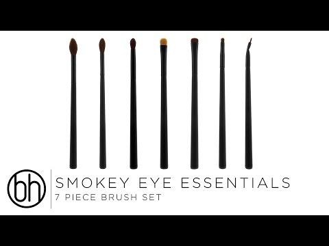 BH Cosmetics BH Cosmetics Smokey Eye Essential 7 Piece Brush Set