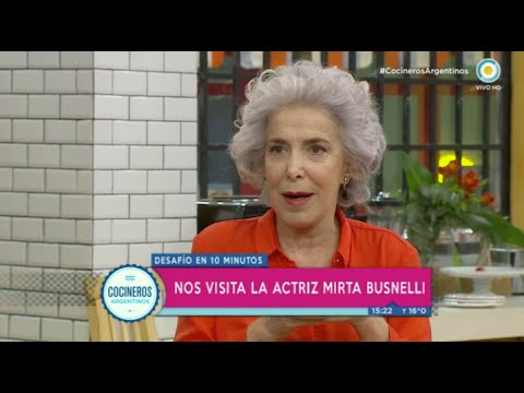 Mirta Busnelli en Cocineros Argentinos
