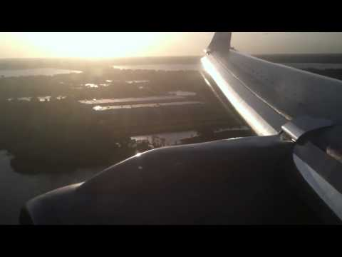 American Airlines - Landing at Orlando International Airport after a quick flight from Miami aboard AA 1748. Please comment rate and subscribe!