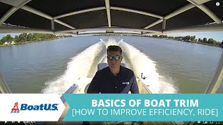 How To Trim Your Boat - Basics Of Boat Trim