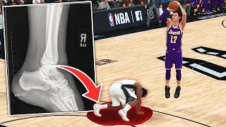 CRAZIEST *ANKLE BREAKER* IN LA LAKERS DEBUT - NBA 2K19 My Career