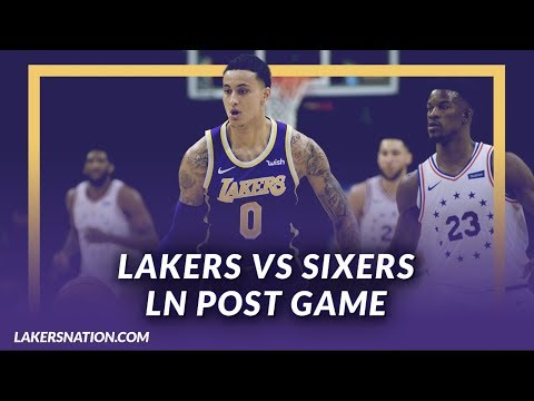 Video: Lakers Discussion: Lakers Lose to the Sixers, Kuz drops 23 in the 1st, Reggie Bullock Starts