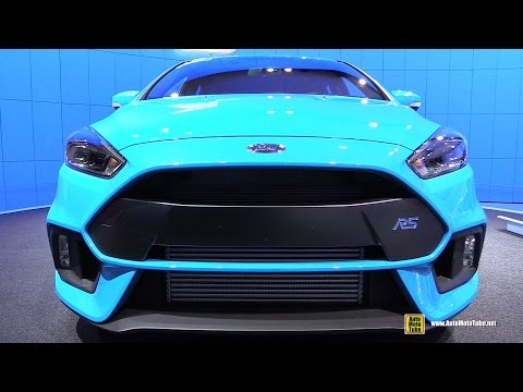 ford focus rs - exterior and interior walkaround