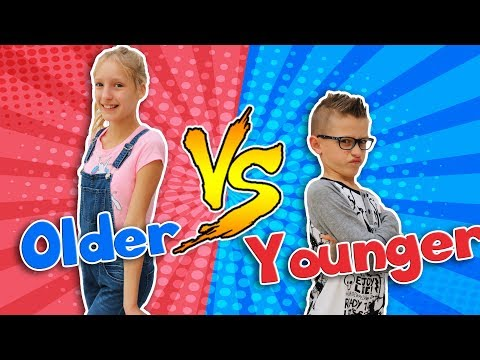 OLDER SIBLING vs. YOUNGER SIBLING (видео)