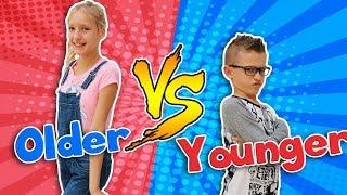 Video OLDER SIBLING vs. YOUNGER SIBLING MP3, 3GP, MP4, WEBM, AVI, FLV Maret 2018