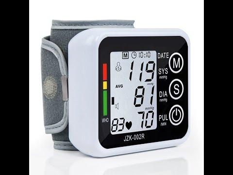 Videorecensione ITA   Polso Monitor di Pressione Sanguigna, ELEGIANT Digitale Sfigmomanometro LCD
