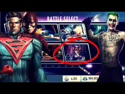 The IMPOSSIBLE 3.2 Battles! Injustice Gods Among Us 3.2! iOS/Android!