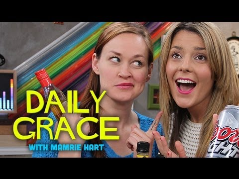 My Damn Channel - Happy Thursday! Mamrie Hart was on the show today with Grace Helbig doing her thing. Thanks for watching!! Subscribe to Mamrie: http://www.youtube.com/youdeserveadrink Segments: MFCFLTS:...