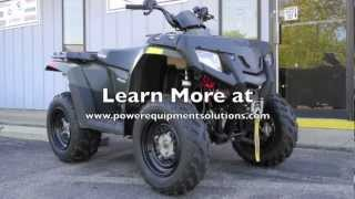 6. 2010 Polaris Sportsman 300 ATV with Winch and Snow Plow