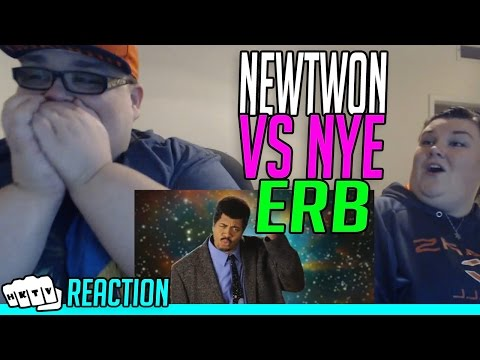 SIR ISAAC NEWTON v BILL NYE ERB REACTION!!🔥
