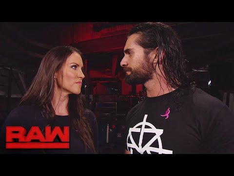 Seth Rollins reveals Triple H's worst decision to Stephanie McMahon: Raw, Oct. 3, 2016