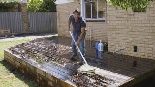 The Home Team S3 - How to Clean a New Deck Before Staining