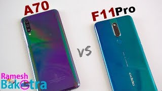 Video Samsung Galaxy A70 vs Oppo F11 Pro SpeedTest and Camera Comparison MP3, 3GP, MP4, WEBM, AVI, FLV Mei 2019