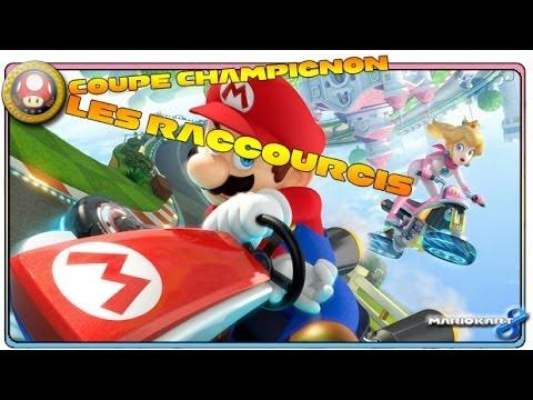 Mario Kart 8 - Coupe Champignon - Les raccourcis (Wii U)
