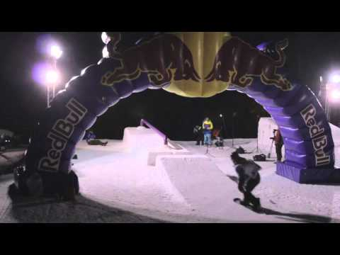 Sanpe Snowpark - Easy Snowpark Destroy Night Event 25.02.2012