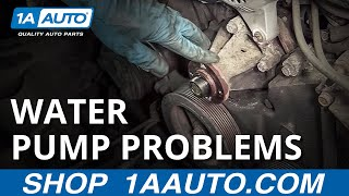 6. Signs the Water Pump Is Going Bad