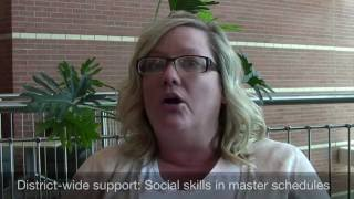 Ci3T: Social Skills in Master Scheduled
