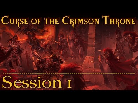 The Curse of the Crimson Throne Episode 1: Ello Poppet