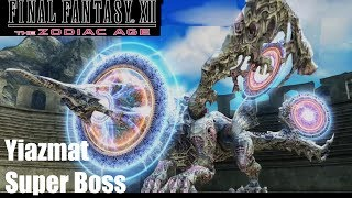 Final Fantasy XII The Zodiac Age - Yiazmat Super Boss Fight (PS4 Gameplay). From all Final Fantasy Games the Super Boss with the most HP.If you see your copyright infringed by this Video, tell me and I will take down the video immediately. No need to strike my channelSupport: https://youtube.streamlabs.com/meloo#/or https://www.patreon.com/Meloo