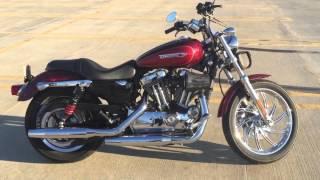 10. 2008 Harley Sportster 1200 short review